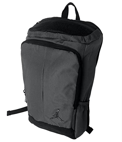 ee0c6c7f759f Amazon.com  Nike Jordan Gray Unconscious Laptop Storage Pack Backpack (Gray  Black)  Computers   Accessories