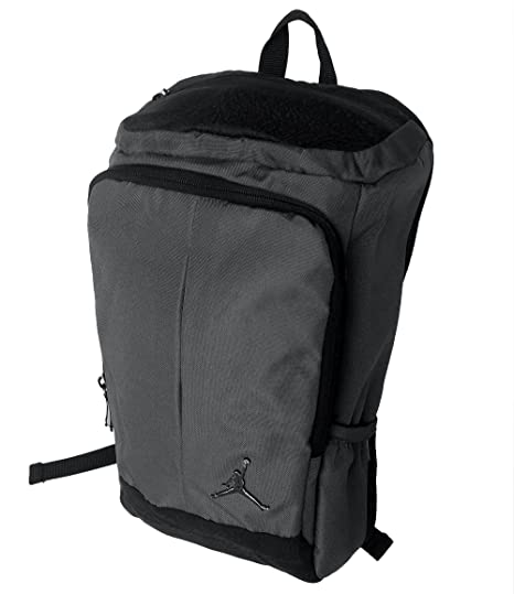 Amazon.com  Nike Jordan Gray Unconscious Laptop Storage Pack Backpack (Gray  Black)  Computers   Accessories 8ab7b0743
