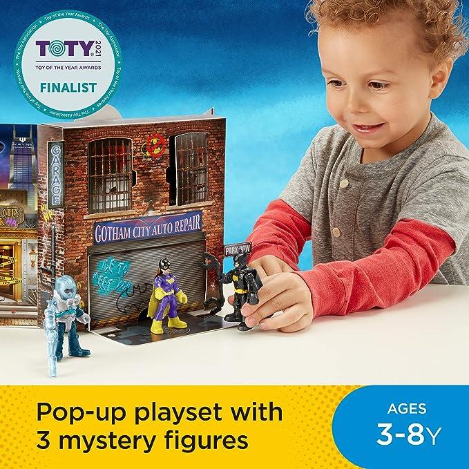 Fisher-Price Imaginext DC Super Friends Gotham City Pop-up Playset Mr Freeze NOB