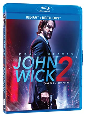 John Wick Chapter 2 Blu Ray Digital Copy Bilingual Amazonca