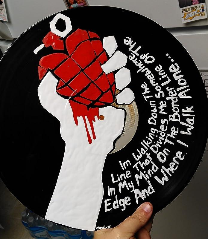 Re Purposed Vinyl Hand Painted Vinyl Record Art Paint Splatter Painted Vinyl Record Vinyl Record Art Music Art