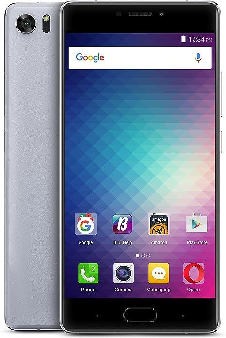 BLU Pure XR Dual SIM LTE 64GB 4GB RAM Gris SIM Free: Amazon.es ...