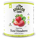 Augason Farms Sliced Strawberries 6.4 oz #10 Can
