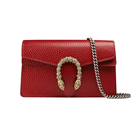 7cc51c19761 Gucci Women s 476432CAOGX8990 Red Leather Shoulder Bag  Amazon.ca  Sports    Outdoors