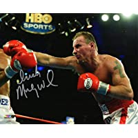 $38 » Micky Ward Signed Boxing Punching Action 8x10 Photo w/Irish