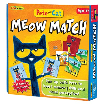 Edupress Pete the Cat Meow Match Game - 62075: Office Products