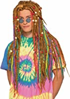 Rainbow Dreads Hippie Costume Dreadlock Wig 74507