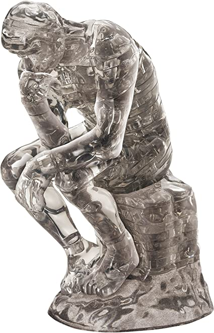 The Thinker 3D Crystal Puzzle