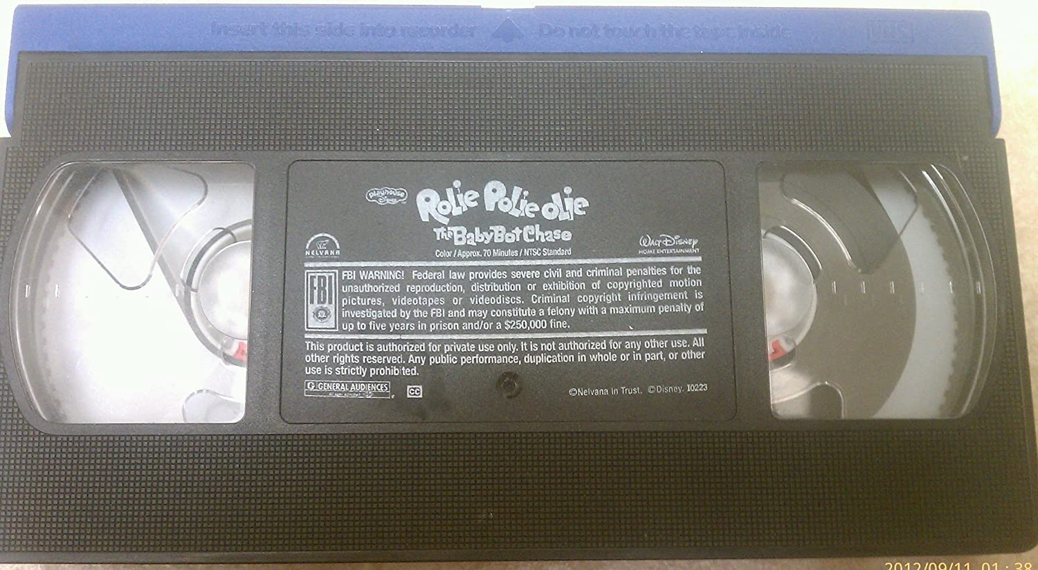 amazon com rolie polie olie the baby bot chase vhs movies u0026 tv