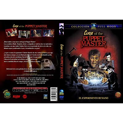 Puppet Master 6 Juguetes asesinos DVD 1998 Curse of the Puppet Master