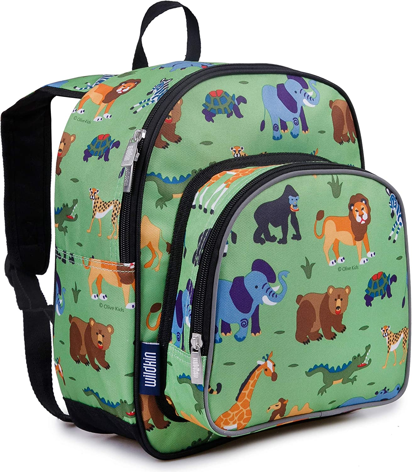 Monkeys Blue Girls//Boys Preschool Toddler Backpack /& Lunch Box Set