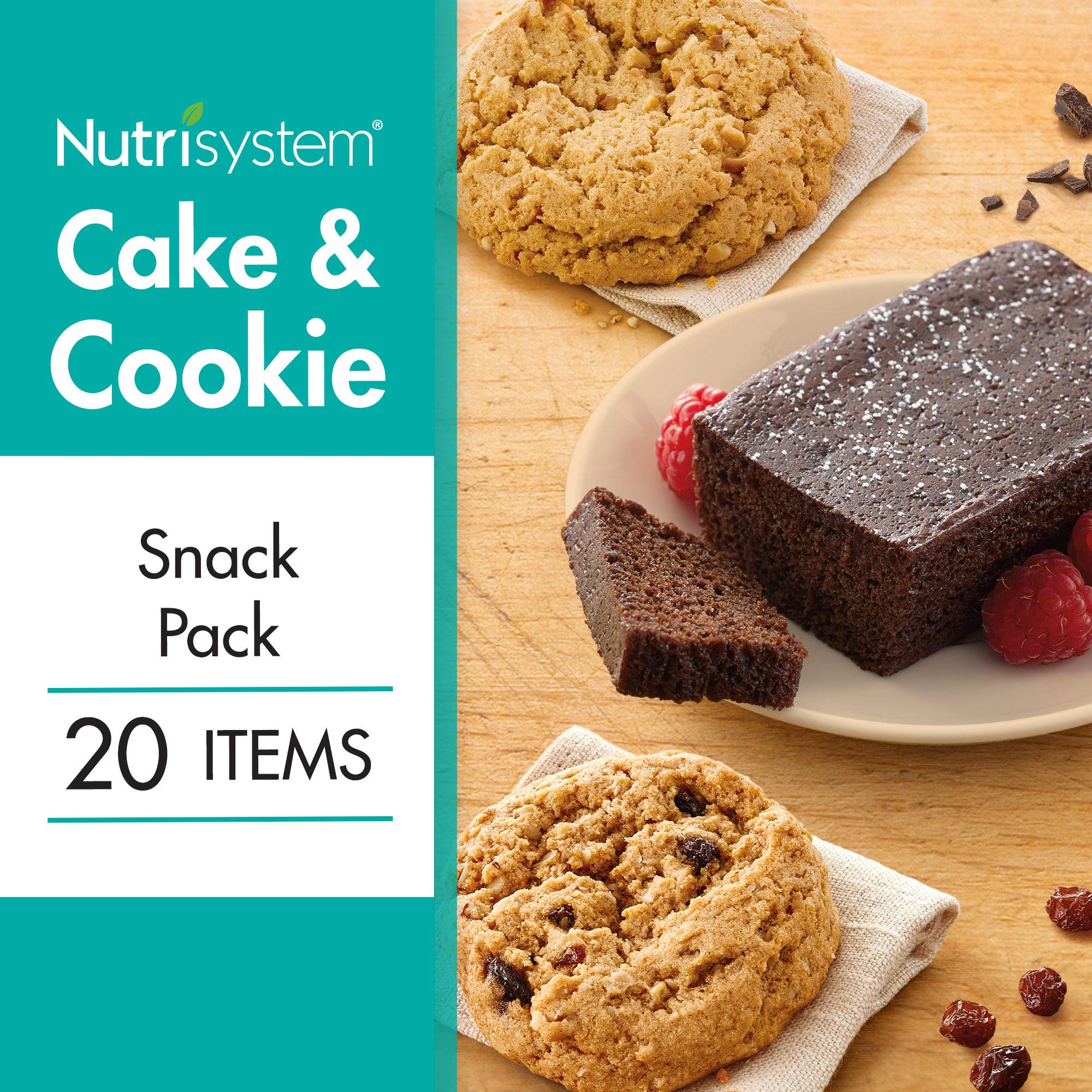 Nutrisystem® Cake and Cookie Snack Pack 20CT by Nutrisystem
