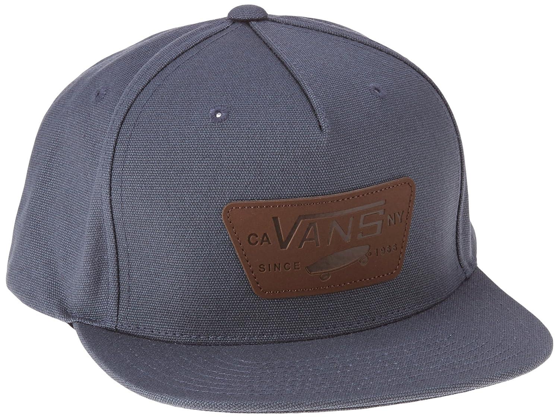 Vans Herren Baseball Cap Full Patch Starter, Grau (Dark