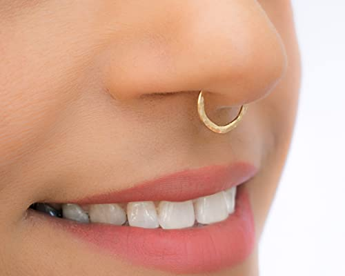16 Gauge Big Septum Piercing Or Nose Jewelry In 14k Gold Filled