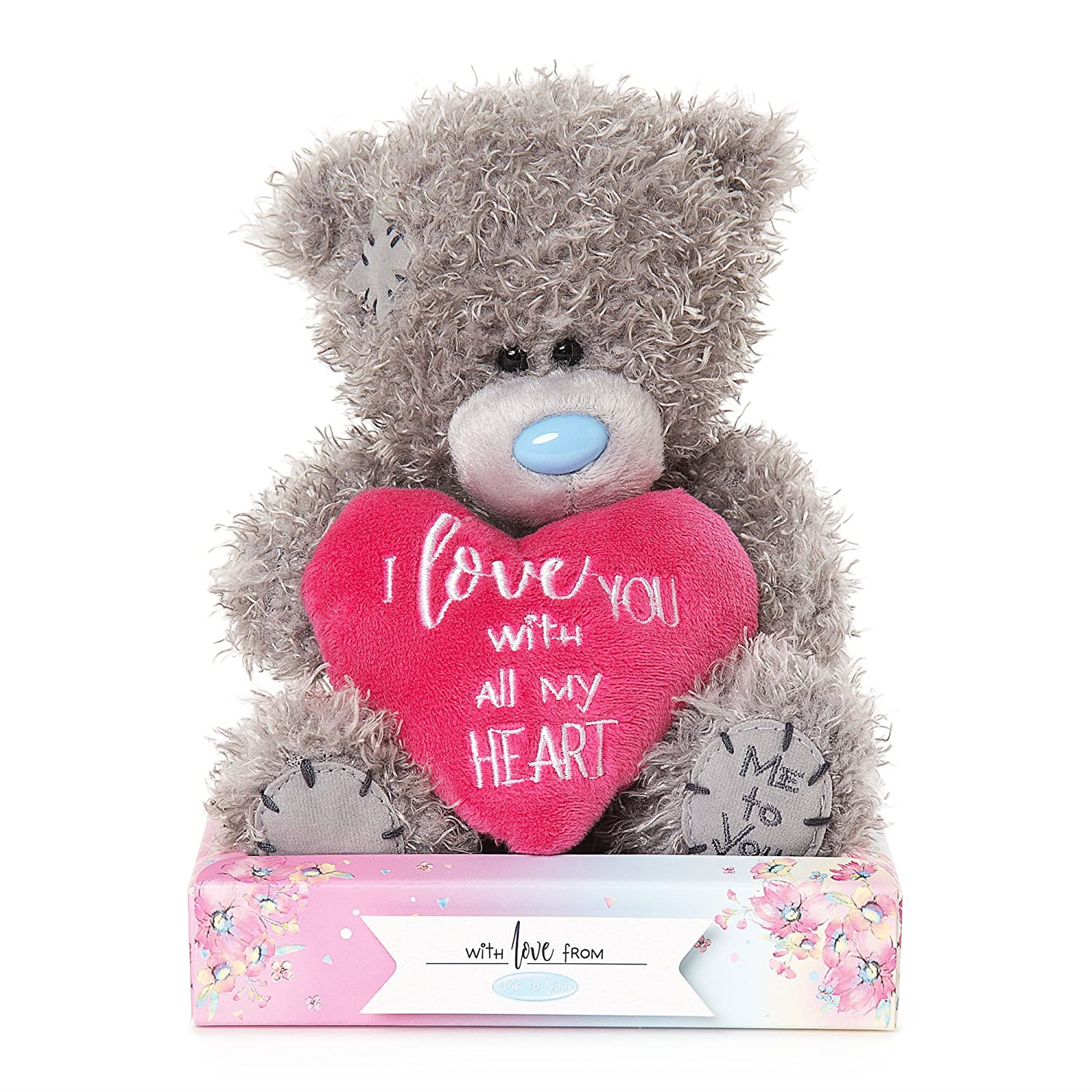 Me To You - Oso de Peluche con Texto en Inglés I Love You: Amazon.es: Juguetes y juegos