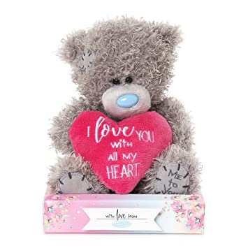 Me To You - Oso de Peluche con Texto en Inglés I Love You