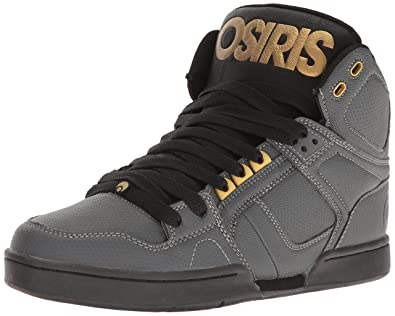 30df7ee80fb Osiris Men's NYC 83 Skateboarding Shoe, Charcoal/Black/Gold, ...