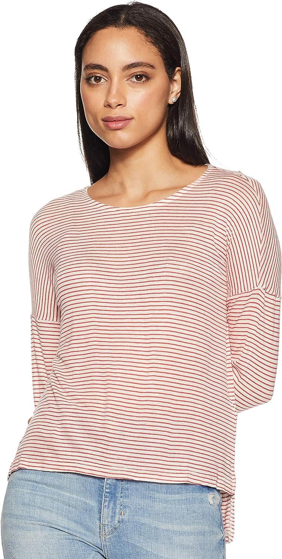 Only Onlselena L/S Stripe Top ESS Camisa para Mujer