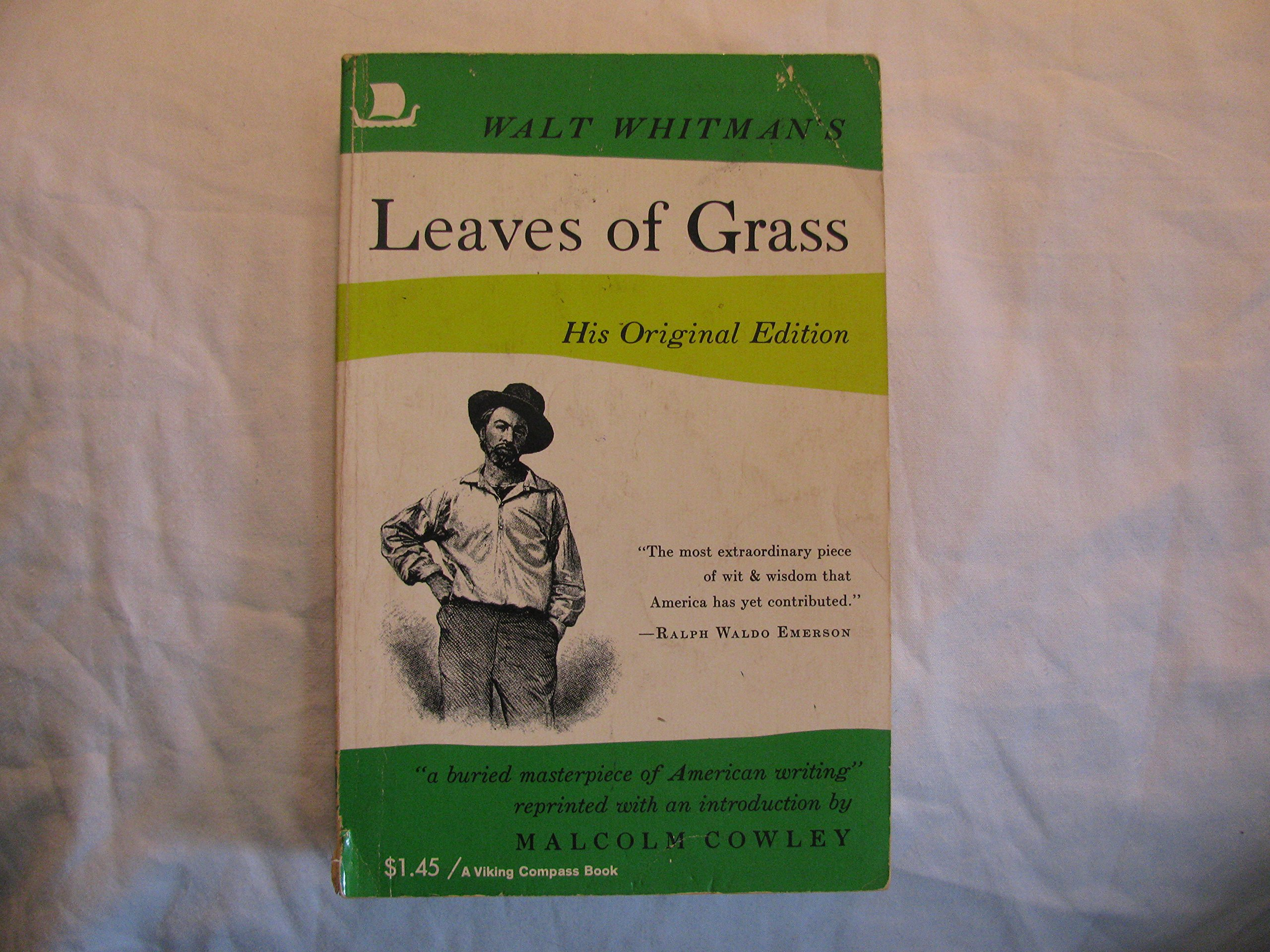 Leaves of Grass The First (1855) Addition, Whitman, Walt