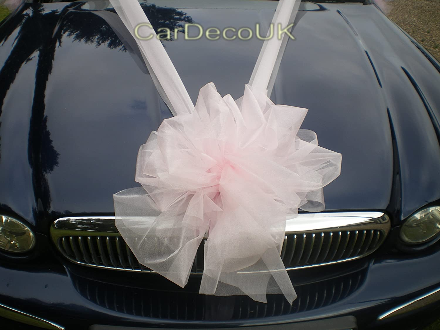 Wedding car decorations uk choice image wedding decoration ideas luxury wedding car organza ribbon bows decoration kit pink ready luxury wedding car organza ribbon bows junglespirit Gallery