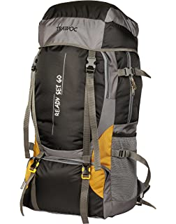 bfbbbd45bfd5b NOVICZ 55 L Travel Backpack for Outdoor Sport Camp Hiking Trekking Bag  (Black)