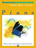 Alfred's Basic Piano Library Technic, Bk 3