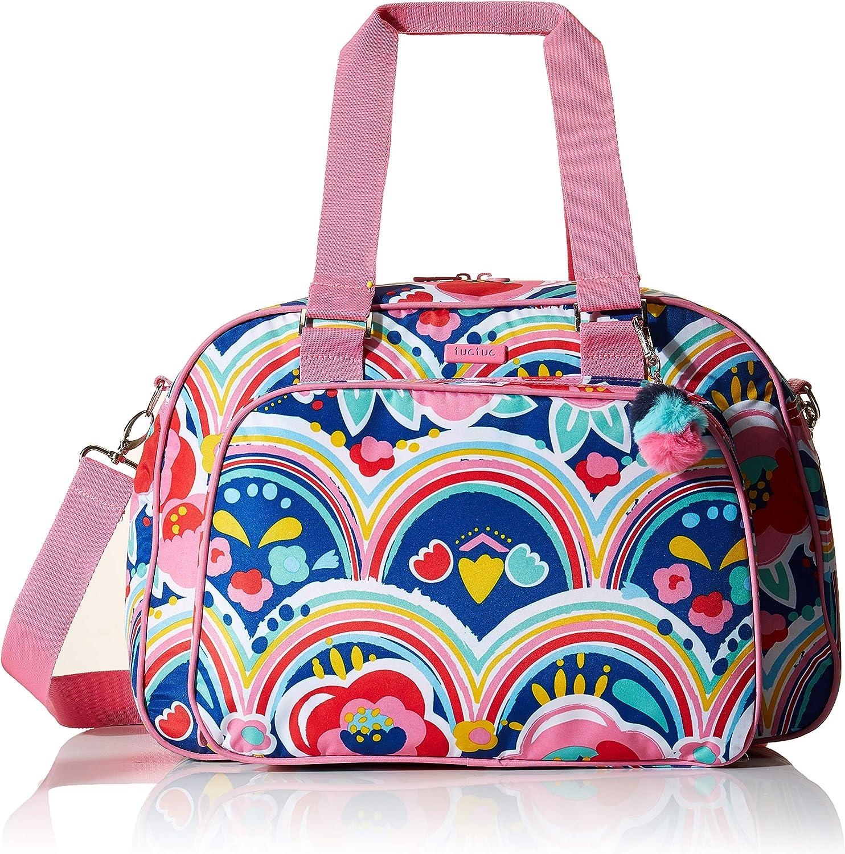 Tuc Tuc Enjoy & Dream - Bolsa de maternidad y cambiador, niñas, color rosa