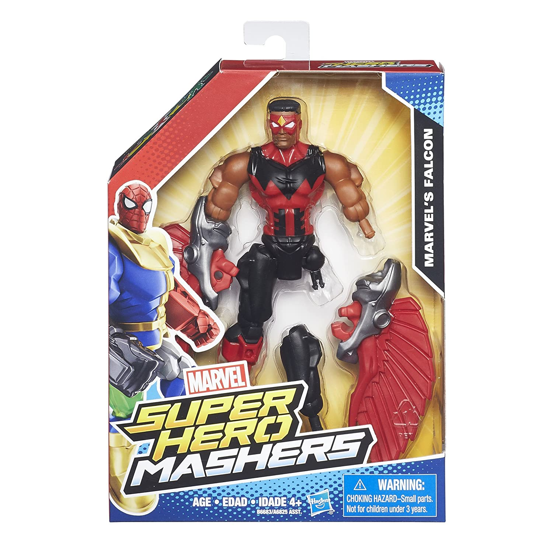 Marvel Super Hero Mashers Spider-Man Figure Hasbro B6071