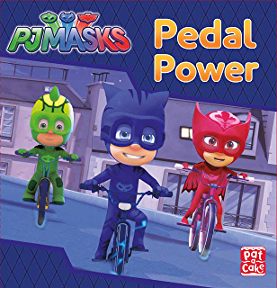 Pedal Power: A PJ Masks story book (English Edition)