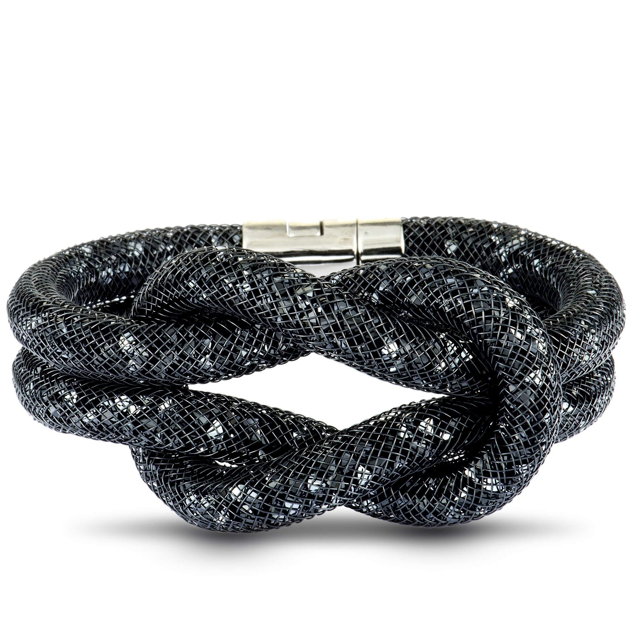 Swarovski Stardust Knot Bracelet, S by SWAROVSKI