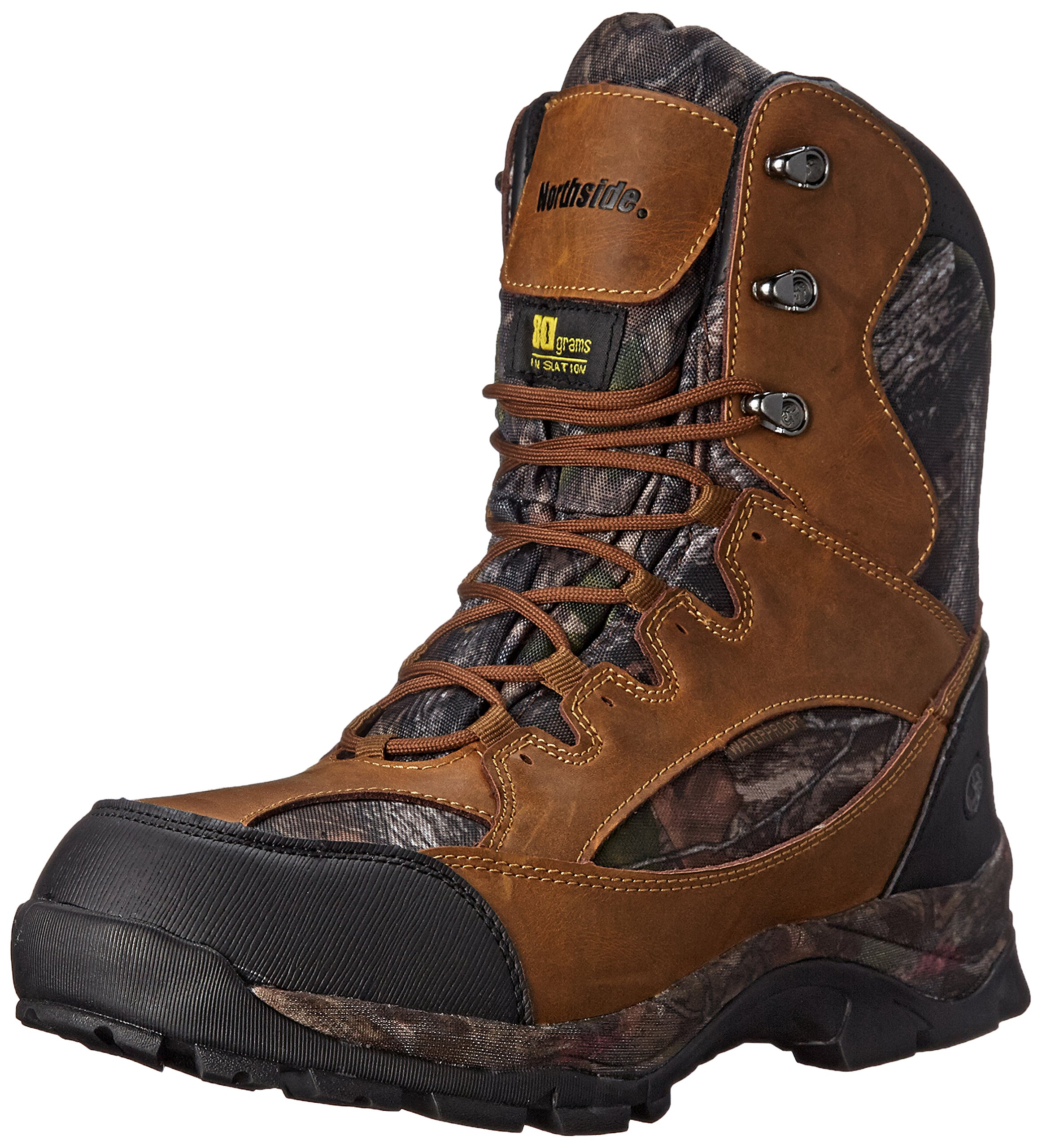 Northside Men's Renegade 800 Hunting Boot, Tan Camo, 11 M US