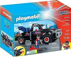 PLAYMOBIL Tow Truck Playset