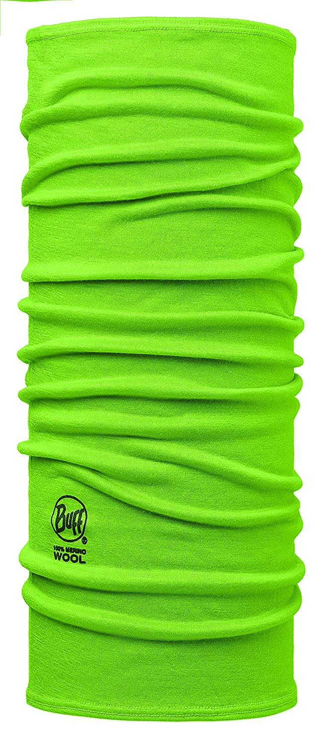 Original Buff Light Merino Lana Buff® Solid Lime - Lana Buff para Unisex, Color, Adolescente S.A 113020.801.10.00