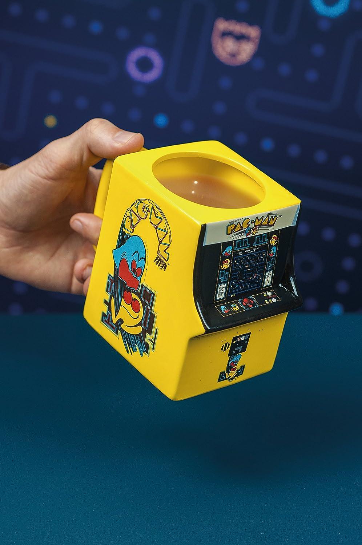 Cer/ámica Pac Man Taza 3D Pacman Arcade 14 x 8 x 11 cm