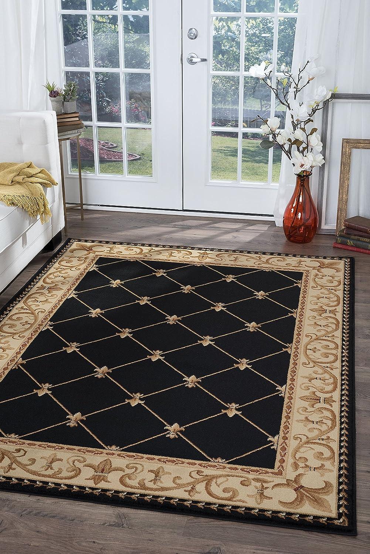 Amazon.com: tayse Sensation 488 interior área alfombra ...