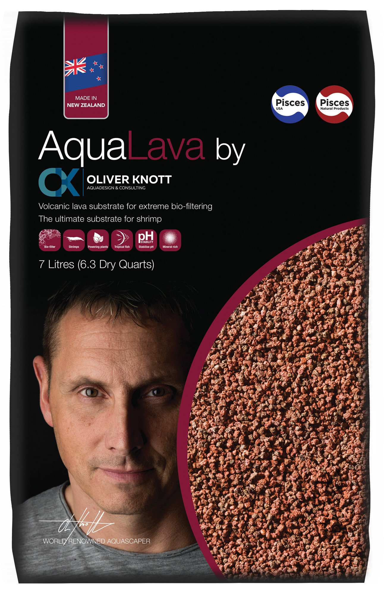 Oliver Knott AQUALAVA Power Plant Growth, 7 L by Oliver Knott