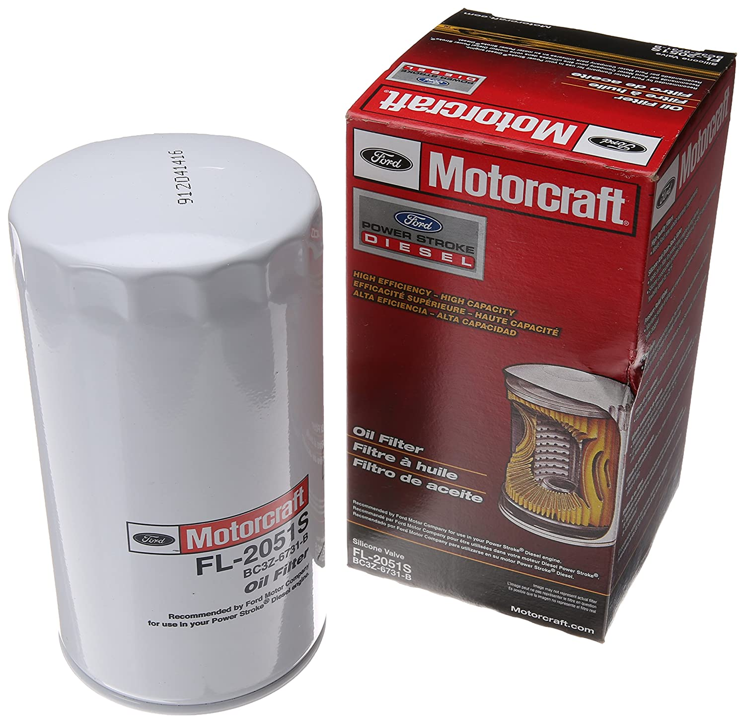 Motorcraft Fl2051s Oil Filter Amazon Canada Ford Fuel Replacement