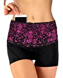 Stashbandz Travel Money Belt & Fanny Pack Pretty Lace with Silicone Grip | 4 Colors 3 Sizes 4 Wide Pockets Fit All Cell Phones - Iphone6, 6+, 6s Plus, Note 1-5 & Google Nexus 6 & Android Smartphones