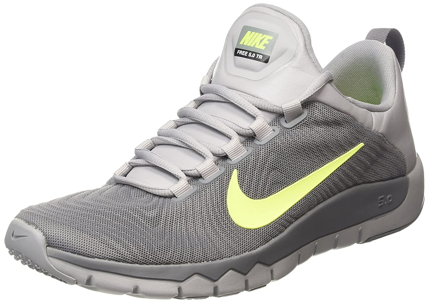 Nike Free Trainer 5.0 V5 Mens Trainers Mens Trainers Shop Mens Trainers COLOUR-black/grey/lime