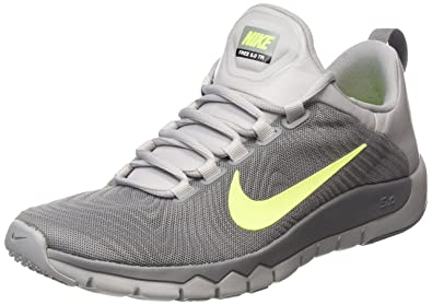 Men's Nike Free Trainer 5.0 Wolf Grey Volt Sneakers : S38y6129