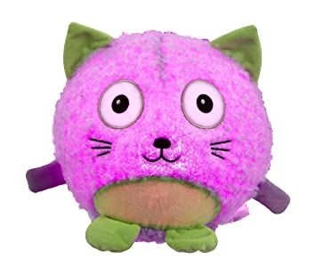 Vivid Imaginations Oodlebrites Light-Up Cat Plush Toy Multi