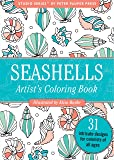Seashells Portable Adult Coloring Book (31 stress-relieving designs) (Studio Series Portable Coloring Book)