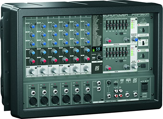 Behringer PMP960M - Mezclador amplificado outlet: Amazon.es ...