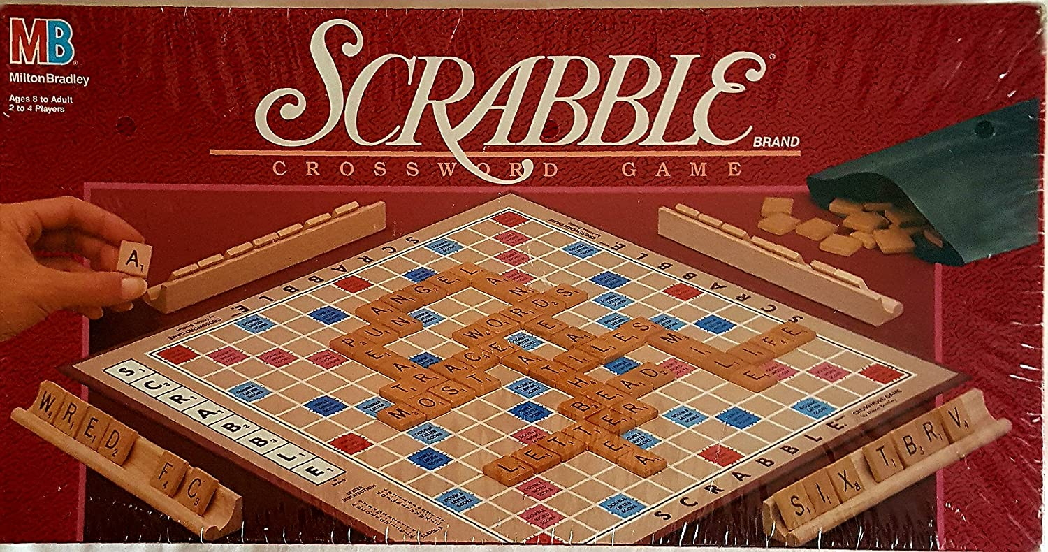 Amazon Scrabble Board Game 1989 Edition Toys Games