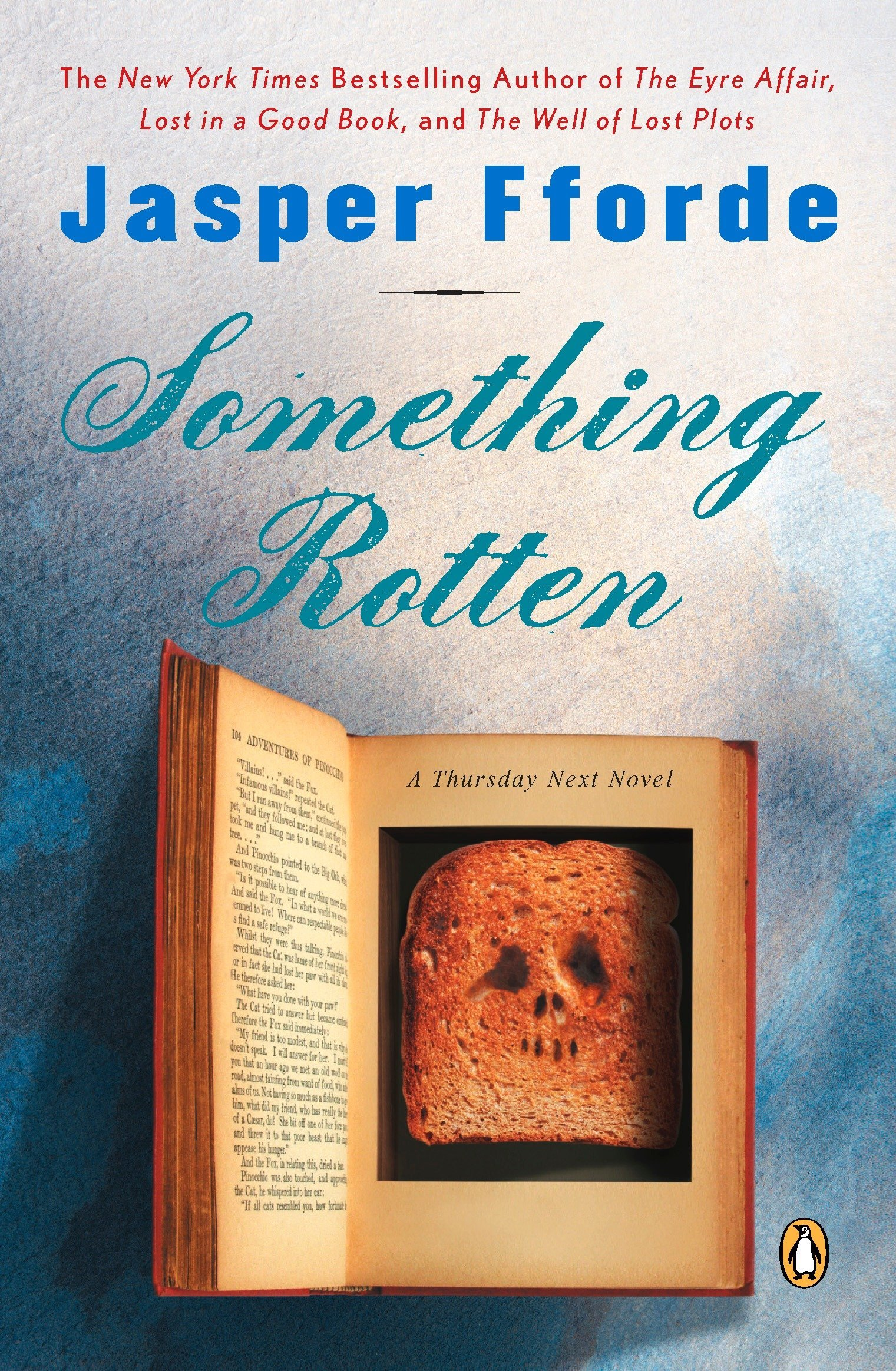 Image result for Something Rotten by Jasper Fforde