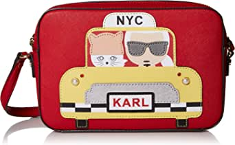 Karl Lagerfeld Paris Maybelle Taxi Camera Crossbody