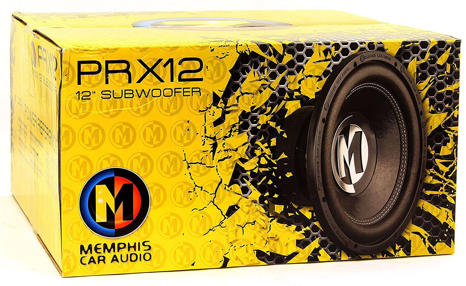 15-PRX12S4 - Memphis 12 250W RMS Single 4-Ohm Power Reference Series Subwoofer by Memphis   B01596HWRS