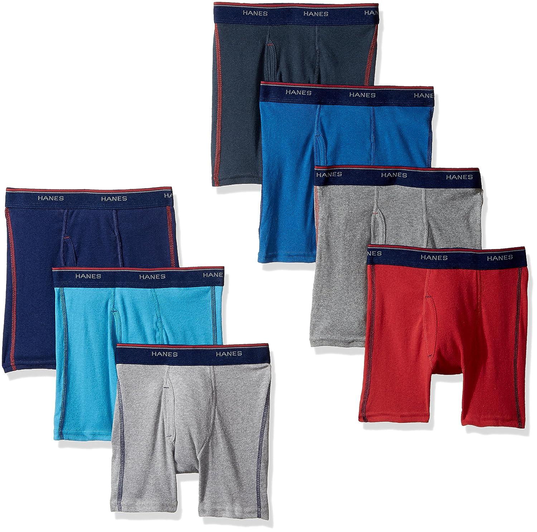 Hanes Boys' Big Comfort Flex Sport Boxer Briefs Hanes Boys 8-20 Underwear B74SB7