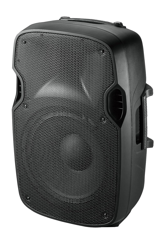 Ibiza XTK15A - Bafles de sonido con ABS activo, 15, 38 cm 15 Lotronic Altavoz amplificado