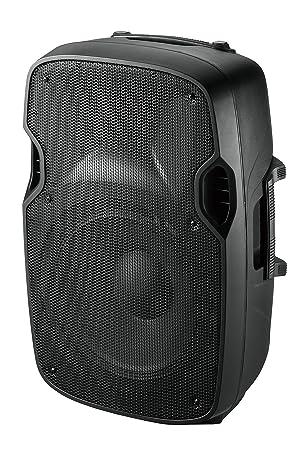 Ibiza SLK10A-USB - Altavoz de suelo de 400 W, negro: Amazon.es: Instrumentos musicales